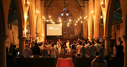 Vine Church + St Michael's – church for hire