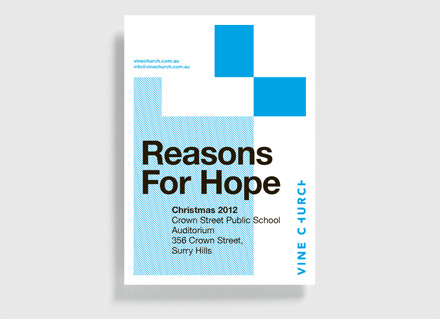 Reasons For Hope postcard